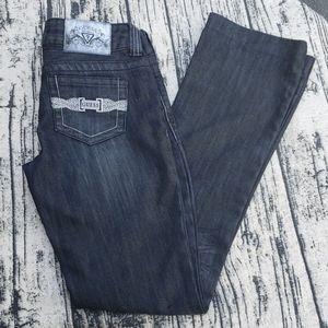 Guess Low Waist Black Jean's